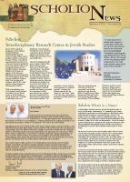ScholioNews no. 1, Spring 2003