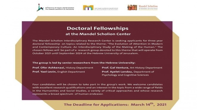 call for application-doctoral fellowship 2021-2024
